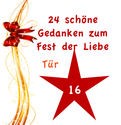 Adventskalender Türchen Nr.16