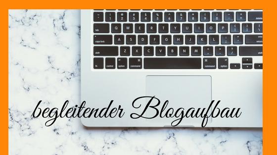 begleitender Blogaufbau