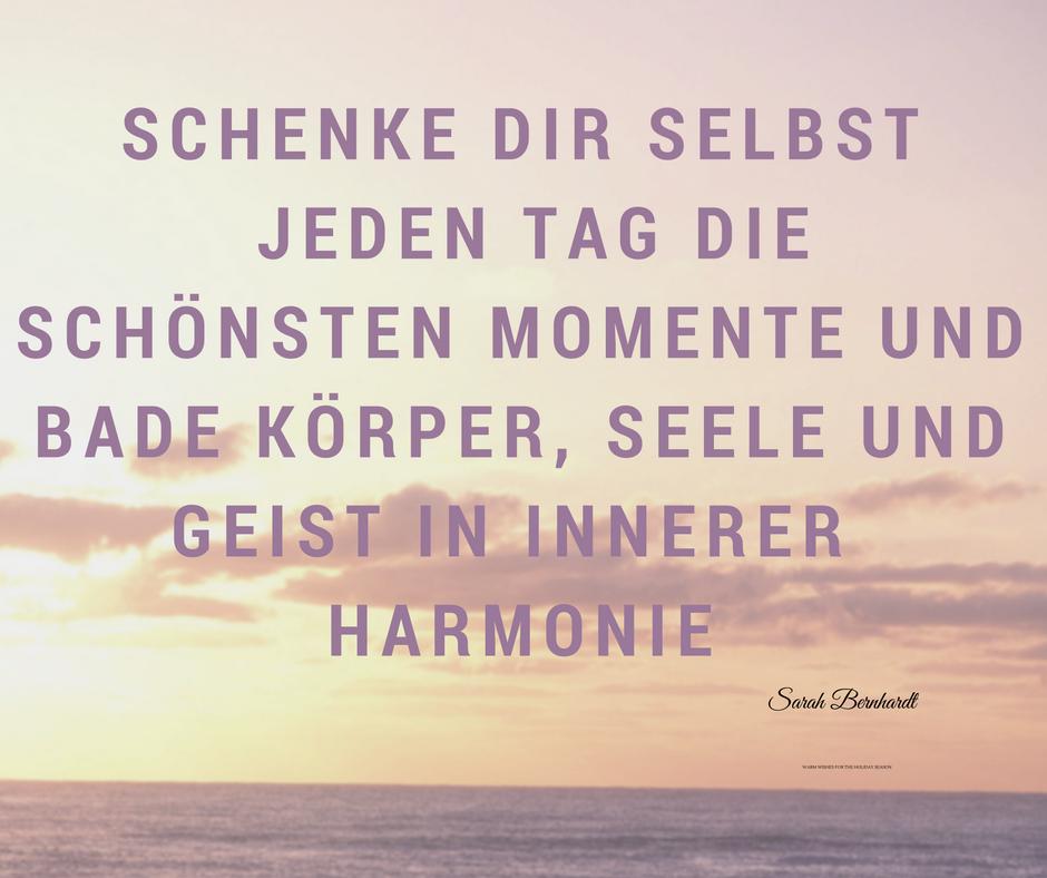 Harmonie schenken